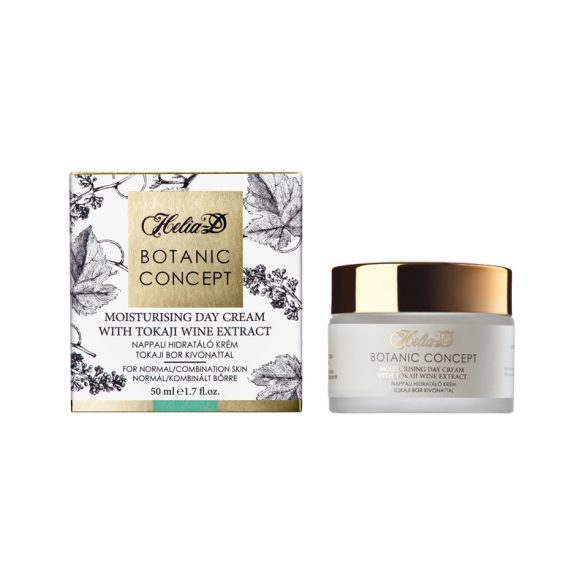 Helia-D Botanic Concept Moisturising Day Cream with Tokai Wine Extract Normal /Combination
