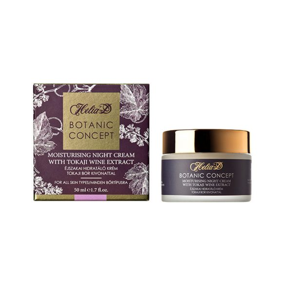 Helia-D Botanic Concept Moisturising Night Cream with Tokaji Wine Extract 50 ml