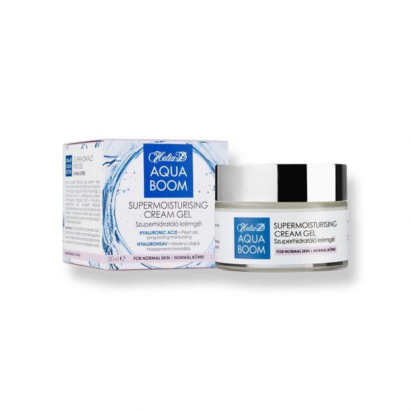 Helia-D Aquaboom Supermoisturising Cream Gel for Normal Skin 50 ml