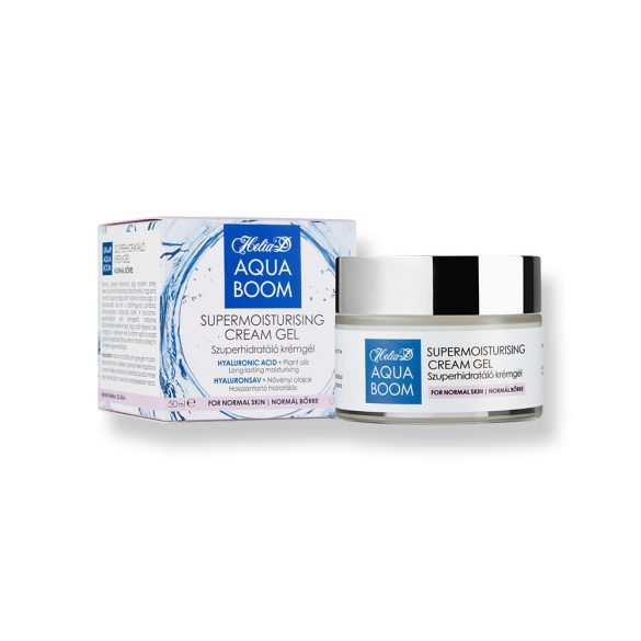 Helia-D Aquaboom Supermoisturising Cream Gel for Normal Skin 50 ml