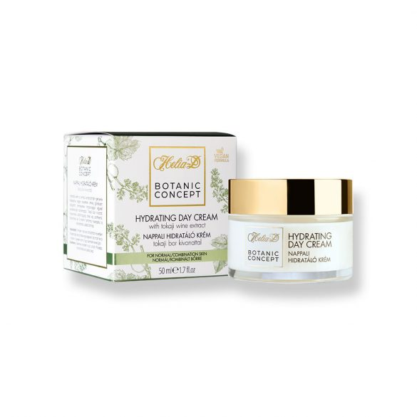 Helia-D Botanic Concept Hydrating Day Cream With Tokaji Wine Extract For Normal / Combination Skin 50 ml