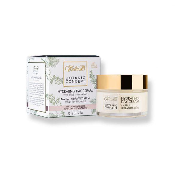 Helia-D Botanic Concept Hydrating Day Cream With Tokaji Wine Extract For Dry / Extra Dry Skin 50 ml