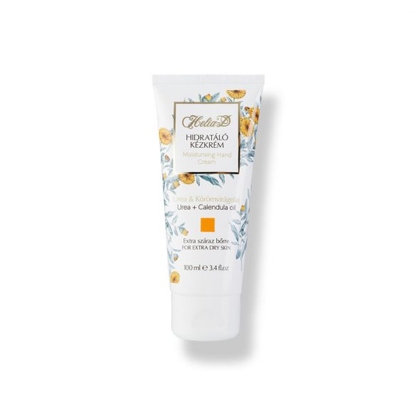 Helia-D Moisturizing Hand Cream with Urea and Calendula oil 100 ml