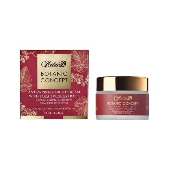 Helia-D Botanic Concept Anti-Wrinkle Night Cream with Tokai Wine Extract 50 ml