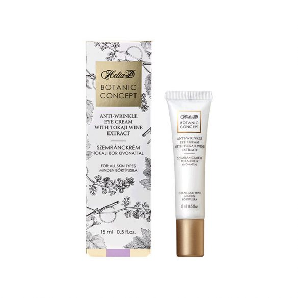 Helia-D Botanic Concept Anti-Wrinkle Eye Cream with Tokai Wine Extract 15 ml