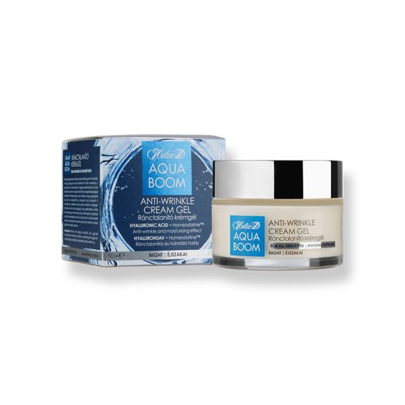 Helia-D Aquaboom Anti-wrinkle Cream Gel - Night