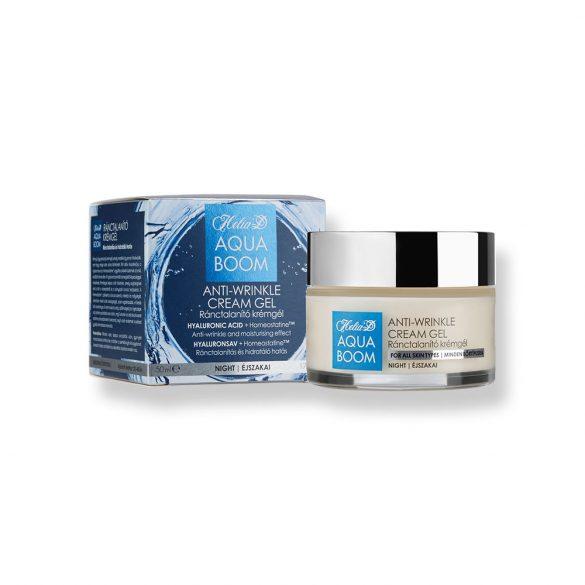 Helia-D Aquaboom Anti-wrinkle Cream Gel - Night
