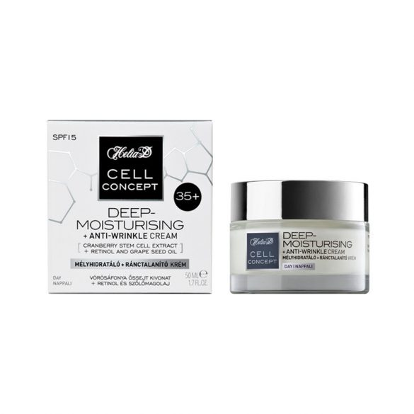 Helia-D Cell Concept Deep-Moisturising + Anti-wrinkle Day Cream 35+