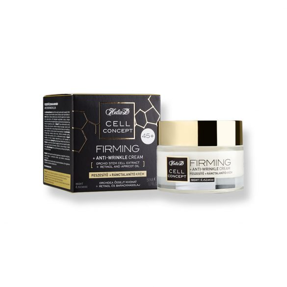 Helia-D Cell Concept Firming + Anti-wrinkle Night Cream 45+
