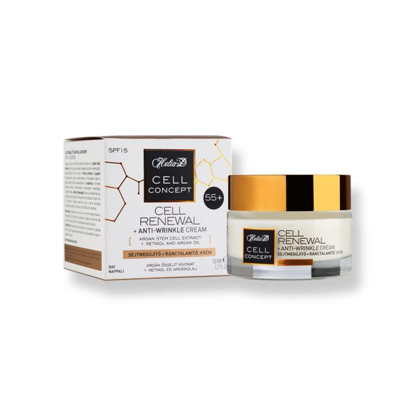 Helia-D Cell Concept Cell Renewal + Anti-wrinkle Day Cream 55+