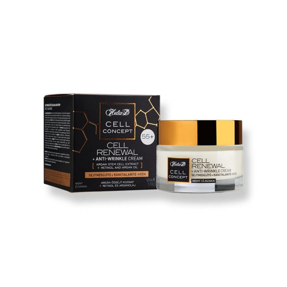 Helia-D Cell Concept Cell Renewal + Anti-wrinkle Night Cream 55+