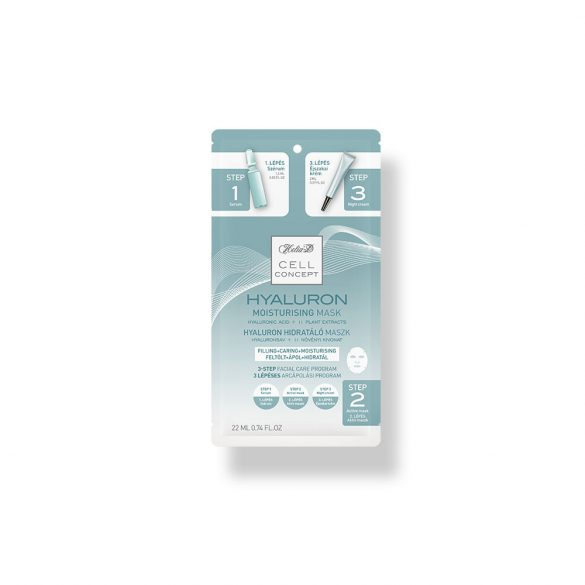 Helia-D Cell Concept Hyaluron Moisturising Mask