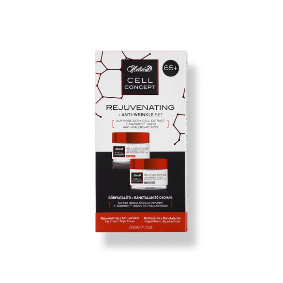 Helia-D Cell Concept Rejuvenating + Anti-wrinkle Set 65+