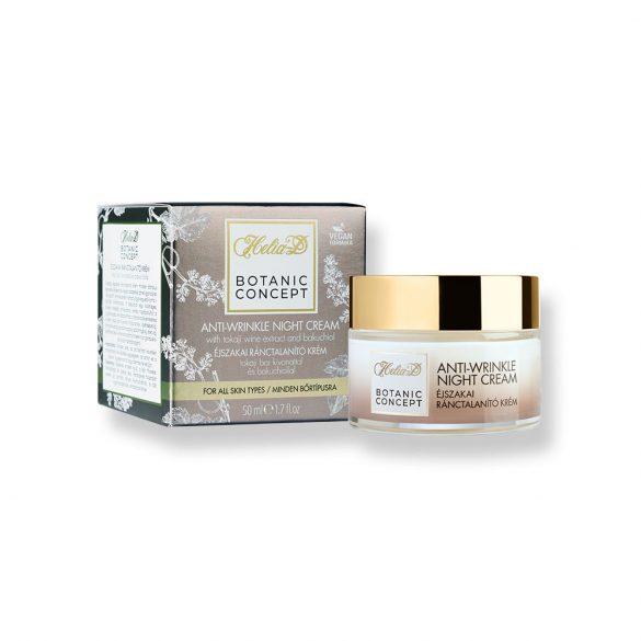 Helia-D Botanic Concept Anti-wrinkle Night Cream With Tokaji Wine Extract And Bakuchiol 50 ml
