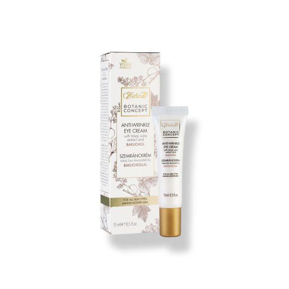 Helia-D Botanic Concept Anti-wrinkle Eye Cream With Tokaji Wine Extract And Bakuchiol 15 ml