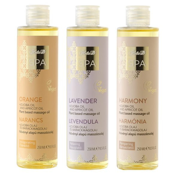 Helia-D SPA Plant Based Massage Oil Lavender