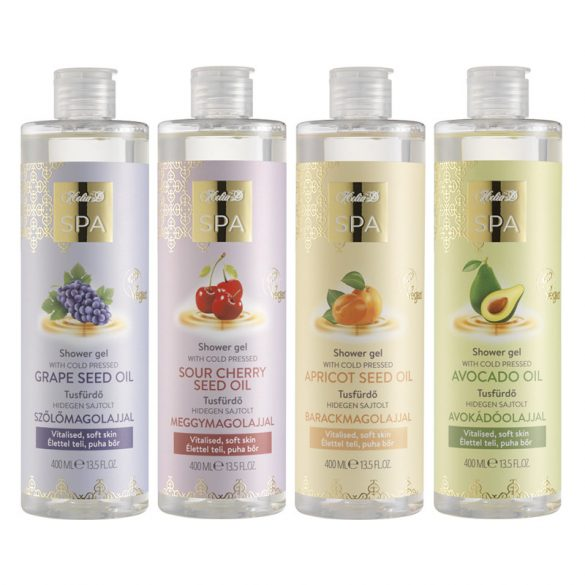 Helia-D SPA Shower Gel with Cold-pressed Apricot Seed Oil