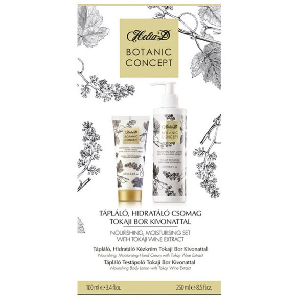 Helia-D Botanic Concept Nourishing, Moisturising Set with Tokaji Wine Extract