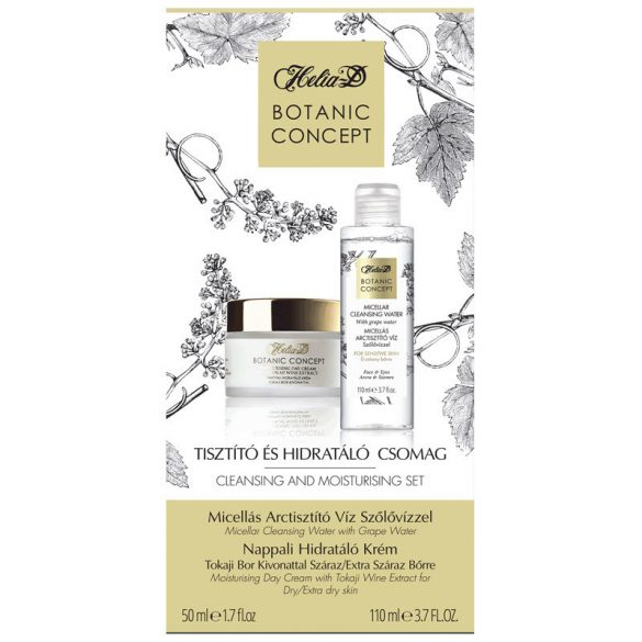 Helia-D Botanic Concept Cleansing and Moisturising set