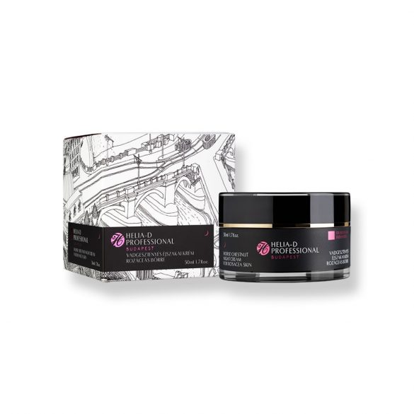Helia-D Professional Horse Chestnut Night Cream for Rosacea Skin