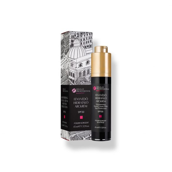 Helia-D Professional Moisturising Facial Cream With Sun Protection SPF30