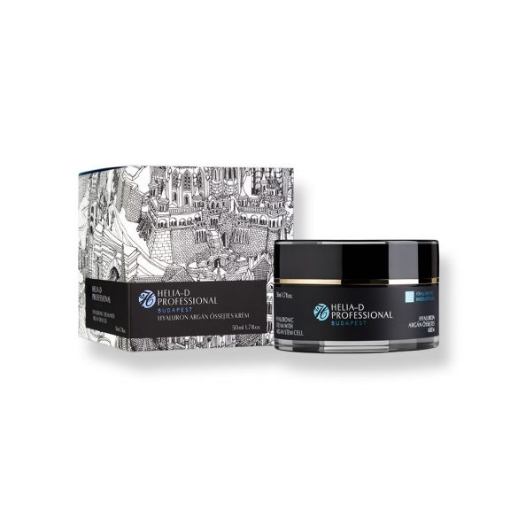 Helia-D Professional Hyaluronic Cream with Argan Stem Cell